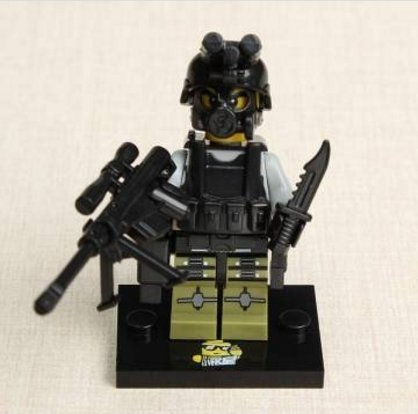 Xiaomingxing The Wraith Assault Mini Figures Block Bricks Toy by Lovestore2555