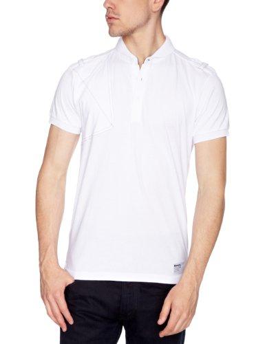 Bench Puerto Printed Men's T-Shirt White Small