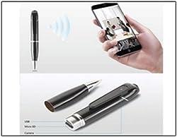 Spy Cam Wifi Wireless Pen Camera