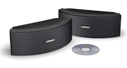 Black Weather Resistant Bose 151 SE environmental speakers
