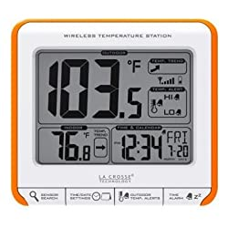 La Cross Technology Wireless Indoor/Outdoor Temperature Station