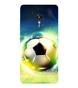 Evaluze football Printed Back Cover for LENOVO ZUK Z2 PRO