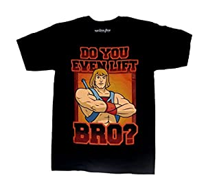 Mighty Fine He Man Do You Even Lift Bro Mens Shirt