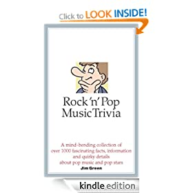 Rock 'n' Pop Music Trivia (Hardback)