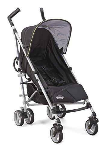 Delta Children Comfort Tech Tour LX Stroller, Black & Green