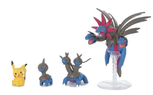 Pokemon Plastic Model Collection Sazandora Evolution Set (Plastic Modelling kit) [JAPAN] - 1