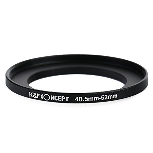 K&F Concept 40.5-52MM Step Up Filtro anello adattatore 40.5 millimetri-52 millimetri di metallo Stepping Anelli 40.5 millimetri accessori della fotocamera 52 millimetri per Canon Nikon Sigma Tamron