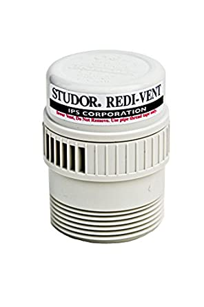 Studor 20349 Redi Vent Air Admittance Valve 1 1 2 Quot Or 2