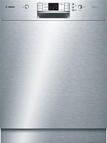 Bosch SMU50L15EU lave-vaisselle - lave-vaisselles (Entièrement intégré, A, A+, Acier inoxydable, boutons, Économie, Pré-lavage, Rapide)