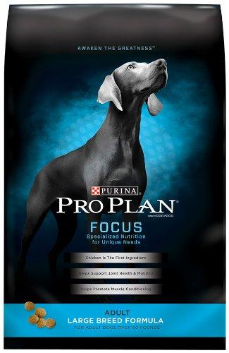 Purina Pro Plan Dry Adult Dog Food, Large Breed Formula, 34-Pound Bag