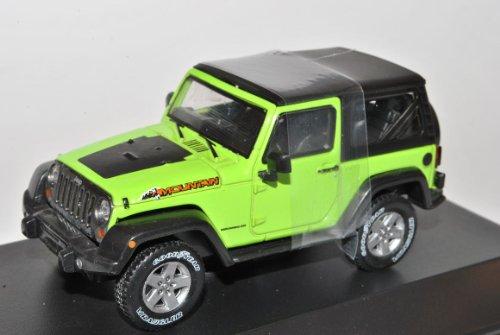 Jeep Wrangler Rubicon Mit Hard Top Hell Grün Ab 2012 1/43 Greenlight Modell Auto