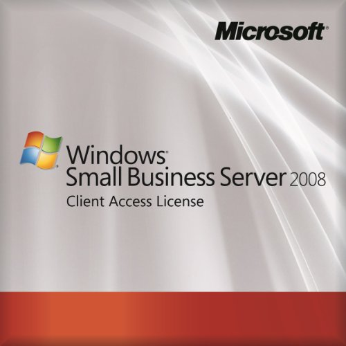 Microsoft Oem Small Business Server 2008 Standard - 5 User Cal (Pc Cd) [Import Anglais]