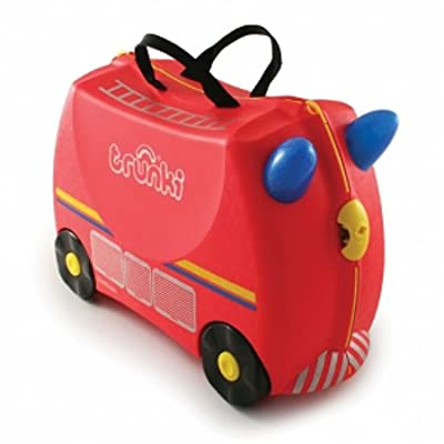 Trunki Freddie the Fire Engine Ride-on Suitcase (Limited Edition)