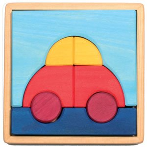 Picture of Fun Car Puzzle (B002LCYY2U) (Pegged Puzzles)