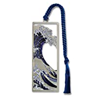 Hokusai's The Great Wave Metal Bookmark