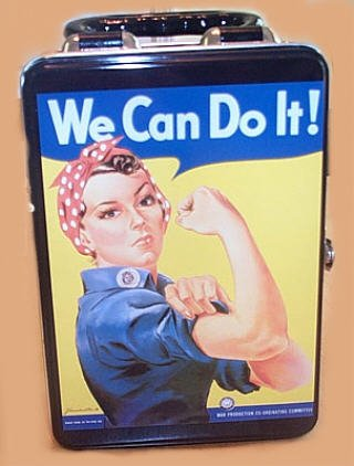 ROSIE the RIVETER New SNACKBOX Lunch Box purse Rosey - 1