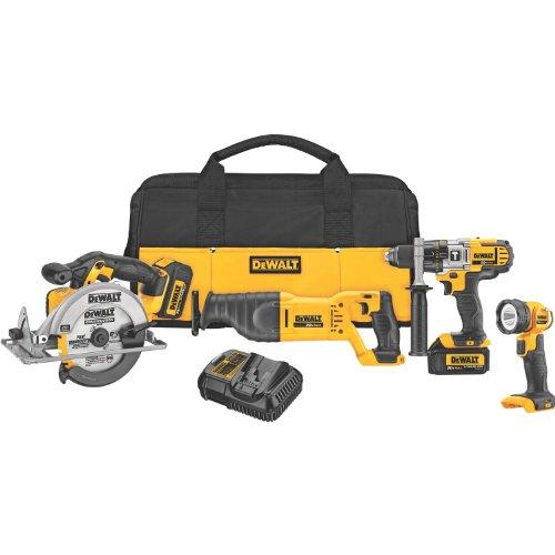 Buy DEWALT DCK491L2 20-Volt MAX Li-Ion 3.0 Ah 4-Tool Combo Kit