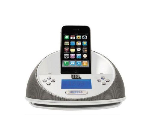 Enceinte On Time Micro - Blanc  pour iPhone, iPod classic, iPod nano, iPod touch