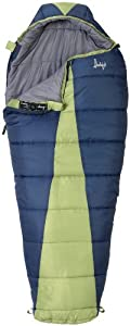 Slumberjack Latitude 20 Degree Women's Synthetic Sleeping Bag