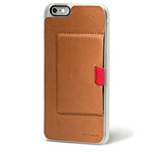 Distil Union - WALLY Slim Leather Wallet Case for iPhone 6+ / 6 Plus (Frost Brown)