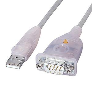 サンワサプライ USB-RS232Cコンバータ USB-CVRS9