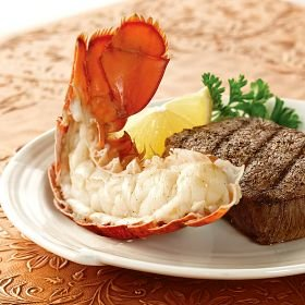 Omaha Steaks 4 (2.5 oz.) Maine Lobster Tail Halves
