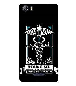 EPICCASE Trust the doc Mobile Back Case Cover For Micromax Canvas 5 E481 (Designer Case)