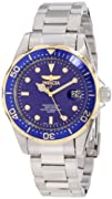 Invicta Womens 12809 Pro Diver Blue Dial Watch with Extra