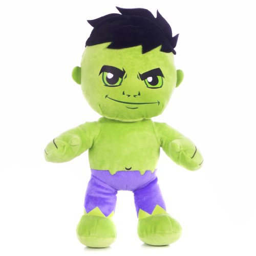 "Posh Paws International - Peluche dell'Incredibile Hulk di ""Marvel Superhero"" Disney"