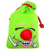 笑い袋 グリーン わらいぶくろ