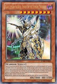 Yu-Gi-Oh! - Black Luster Soldier - Envoy of the Evening Twilight (77498348) - Shonen Jump Magazine Promos - Promo Edition