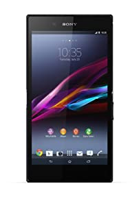 Sony Xperia Z Ultra Smartphone (16,3 cm (6,4 Zoll) Full-HD-TRILUMINOS-Display mit X-Reality, 8 Megapixel Kamera, 2,2GHz, Quad-Core, Snapdragon 800, 2GB RAM, IP55/IP58-Zertifizierung, Android 4.2) schwarz