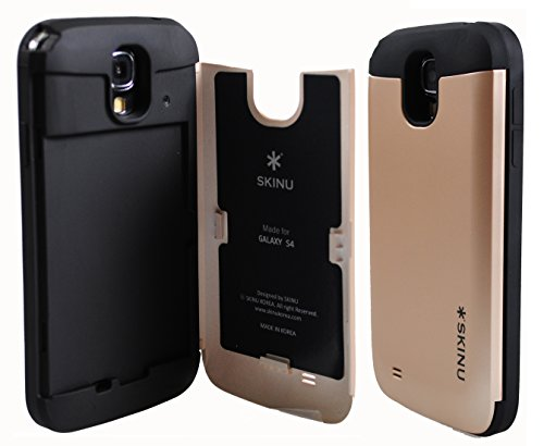 Galaxy S4 Case, SKINU Galaxy S4 Credit Card Case [Shockproof] [Kickstand] [Mirror] Hybrid Protective Cover Case - Verizon, AT&T, Sprint, T-Mobile, International, and Unlocked - Case for Galaxy S4 / Galaxy SIV / Galaxy S IV / GS4 - Retail Packaging in stock new lepin 22001 pirate ship imperial warships model building kits block briks toys gift 1717pcs compatible10210