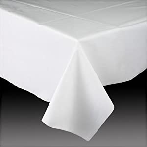 Amscan international nappe rectangulaire en plastique - Nappe cuisine plastique ...