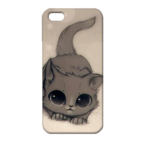 Iphone 5/5s/Se Wonderful Fascinating Style Classical Scenery Cat Cover Case for Iphone 5/5s/Se the Most Cute Animals Cat Series Phone Case (69 Bbq Cover compare prices)