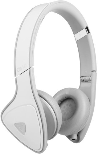 Monster 128469 Dna On-Ear Headphones With Apple Controltalk (White/Gray)