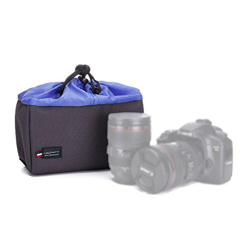 Camera Bag Insert Dslr Camera Case for Purse Universal Liner Lens Pouch Partition Protective Cover Waterproof Sleeve for Canon Nikon Sony (S Size,22 x 13 x 9 Centimeter) (Padded Camera Insert Small compare prices)