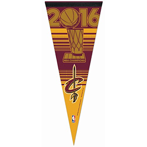 Official 2016 NBA Finals Champions Cleveland Cavaliers Premium Pennant (Cavaliers Merchandise compare prices)