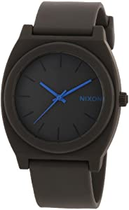 Nixon Men's A119-650 Plastic Analog Grey Dial Watch