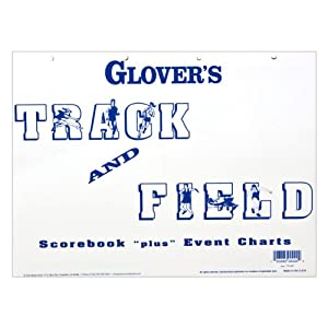 Glover's Scorebooks Glovers Scorebooks Track Scoring and Event Charts (6 Meets) at Sears.com