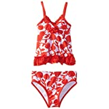 ABSORBA Baby Girls' Cherry Swimsuit