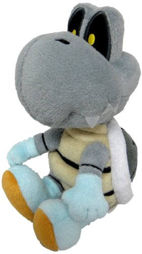 "Little Buddy Official Super Mario Dry Bones Plush, 6"" - 1"