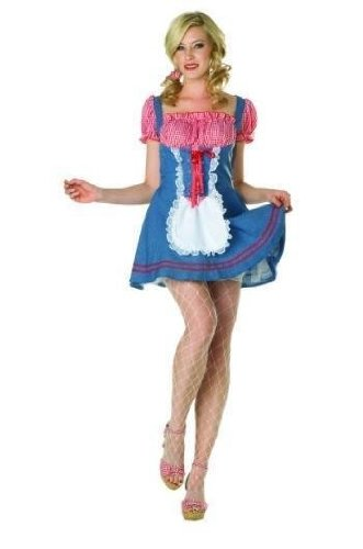 RG Costumes 81659-L Square Dance Adult Costume - Size Large