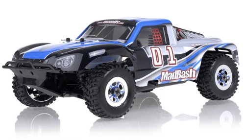 1/8Th Exceed RC Madbash Nitro Powered Almost Ready to Run ARTR Limited Edtion .21 Engine Rally Car Alpha Blue