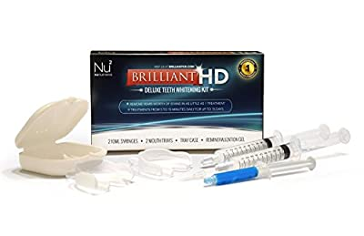 Brilliant Hd - Teeth Whitening Kit - 36% Carbamide Peroxide - Enamel Safe - MADE IN USA