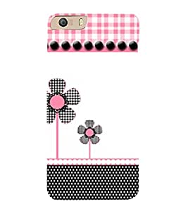 Fan Flower 3D Hard Polycarbonate Designer Back Case Cover for Micromax Canvas Knight 2 E471