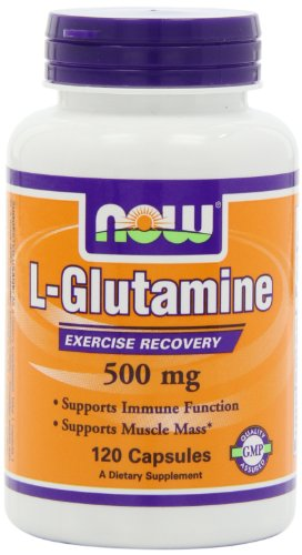 Now Foods NOW Foods L-Glutamine 500mg, 120 Capsules,
