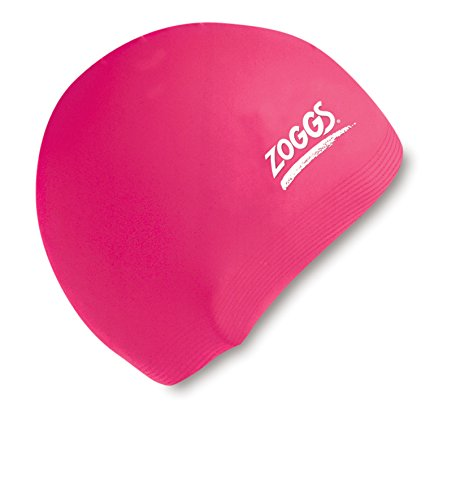 Zoggs Women's Silicone Swimming Cap - Pink (Zoggs Swim Cap compare prices)