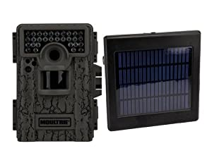 Buy MOULTRIE Game Spy M-880 8 MP Digital Mini Trail Game Camera + Solar Power Panel by Moultrie