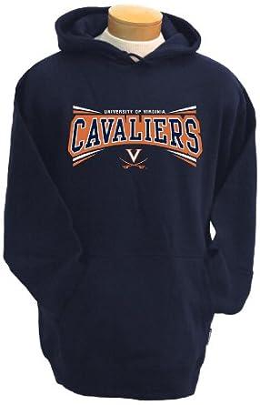 NCAA Virginia Cavaliers Mens Condor Hooded Sweatshirt by CI Sport
